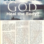 "Confident Living Magazine Articles: A to Z Blog Challenge Alphabet ""D"" Does God Heal T…"