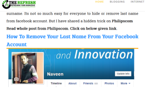 Naveenkumar mention f5the refresh