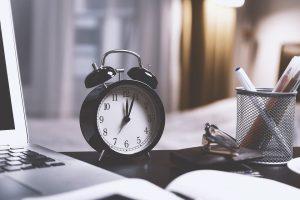 Blogging takes time