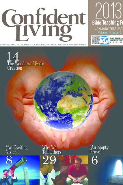 Confident Living Magazine Articles: The Sermon On The Mount