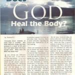 "Confident Living Magazine Articles: A to Z Blog Challenge Alphabet ""D"" Does God Heal T…"
