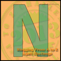 Ann's Blog: Jesus: Name Above All Names: N is for Name At A t...