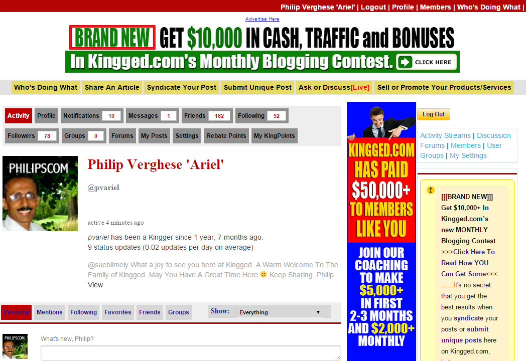 Earn money through Blog Comments
