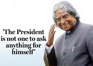 A P J Abdul Kalam - The People's President Of India Is No More! A Tribute