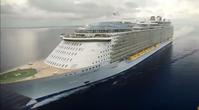 The Biggest Ever Built Cruise Ship In The World
