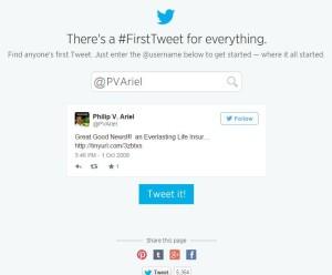 my-first-tweet