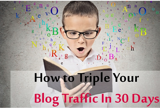 Blog Traffic in 30 Days