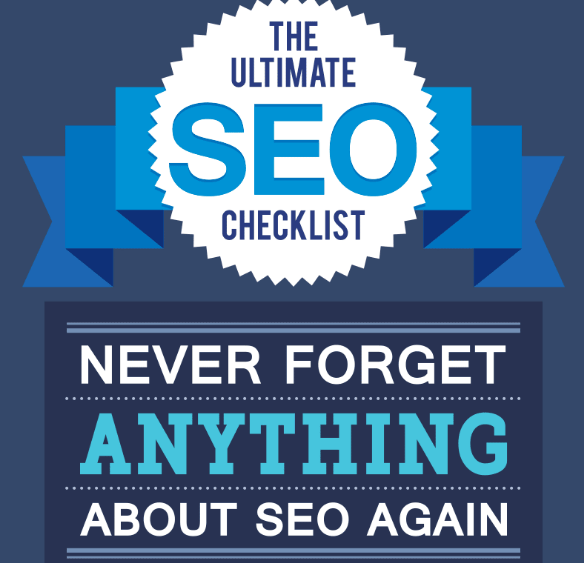 An Ultimate Checklist On SEO An Infographic