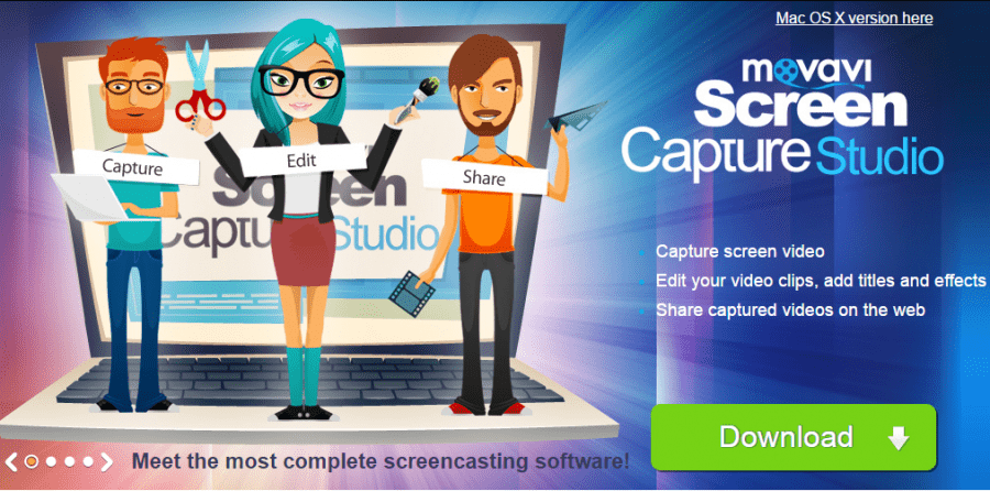 How to Capture Videos from a Computer Screen with Movavi Screen Capture Studio