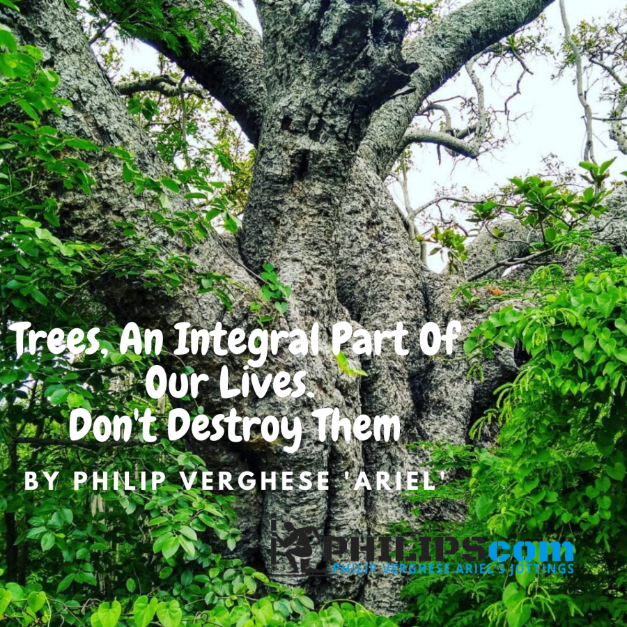 Trees are integral part of us