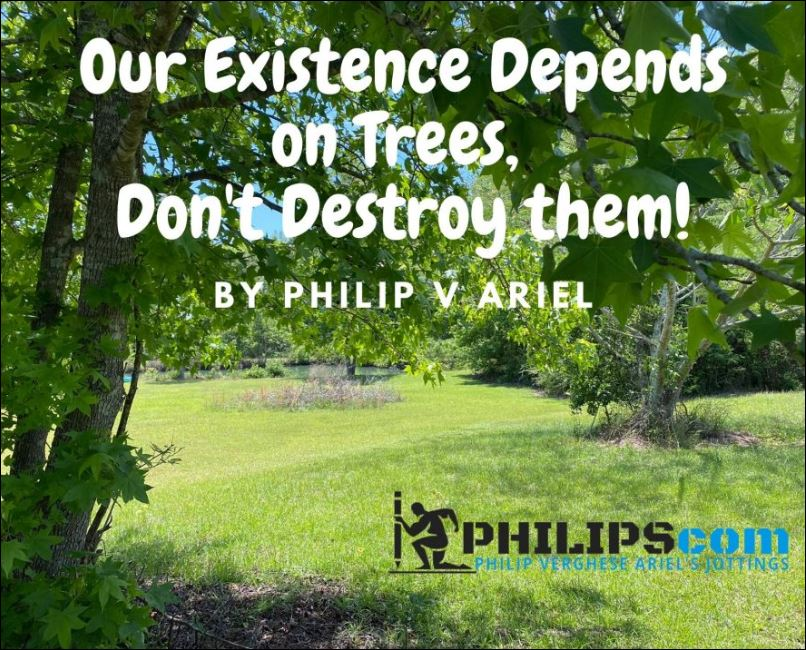 Trees are part of us