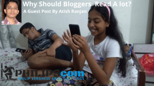 bloggers reading