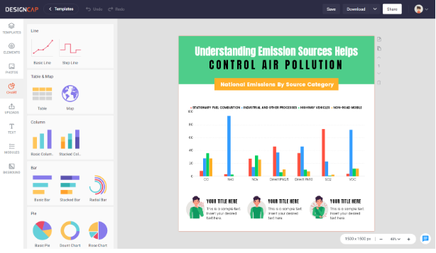 Infographics With DesignCap