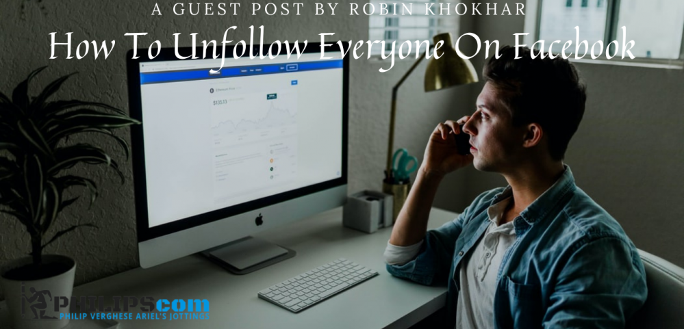 How to unfollow everyone on Facebook