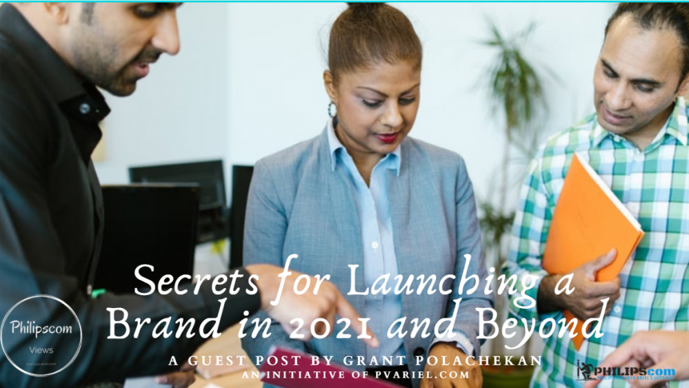 Secrets for Launching a Brand
