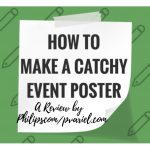 How To Make A Catchy Event Poster With DesignCap – A Review From Philipscom