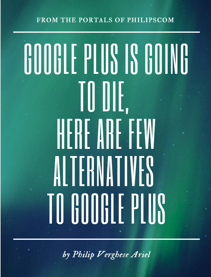 Alternatives to Google Plus