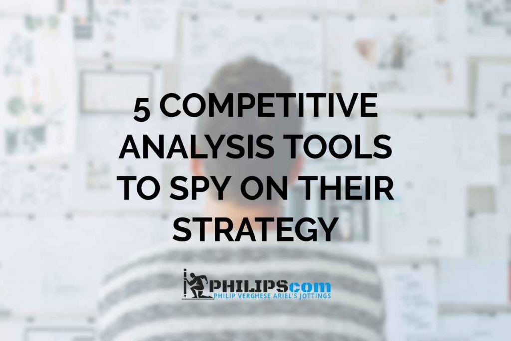 Competitor Analysis Tools