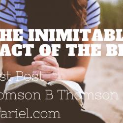 Inimitableimpact of the Bible