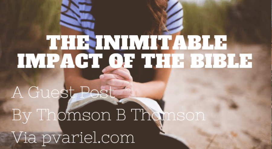 Inimitableimpact of the Bible