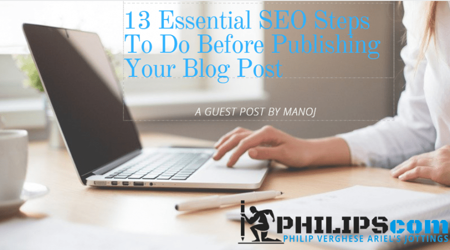 Essential SEO steps