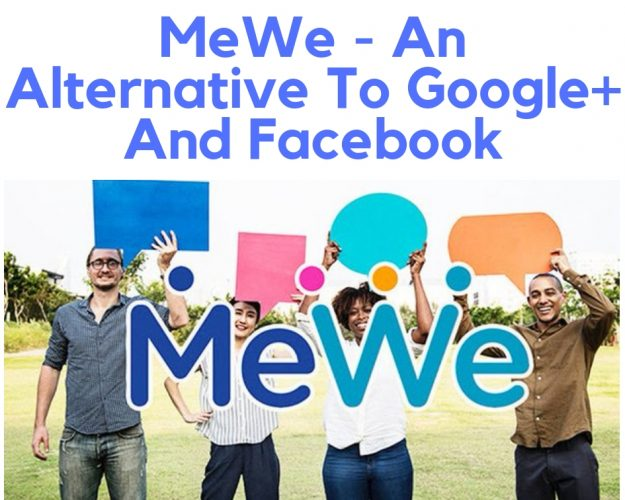 Mewe an alternative to G+