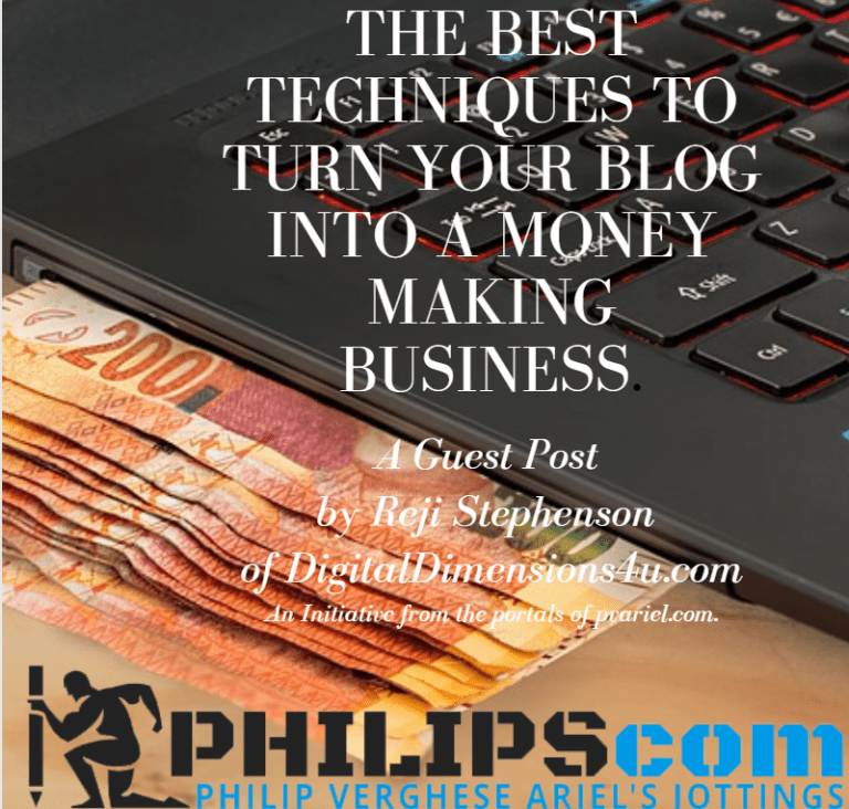 The Best Techniques To Turn Your Blog Into A Business