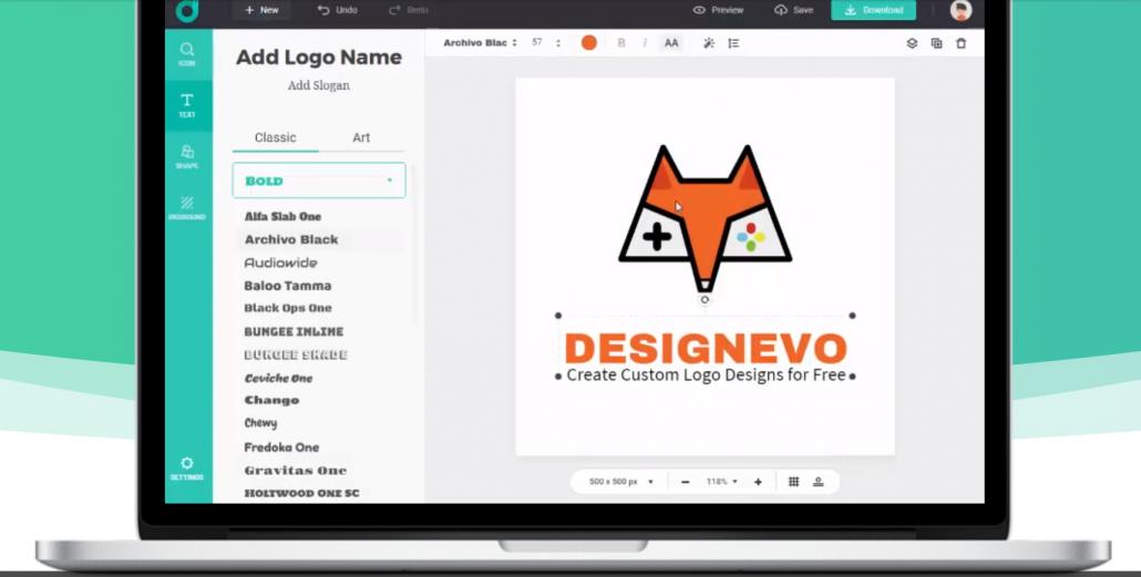 Free Designevo logo