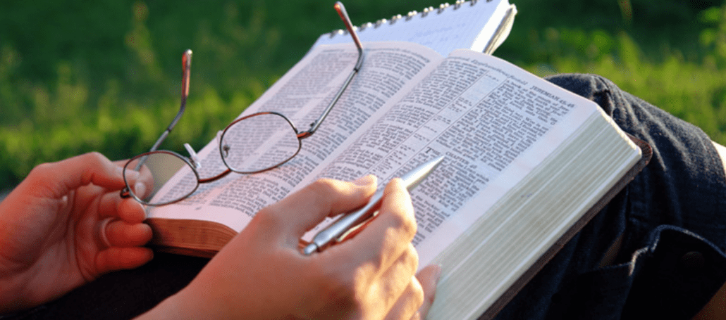 Study God's Word systematically