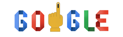 India election 2019 Google Doodle