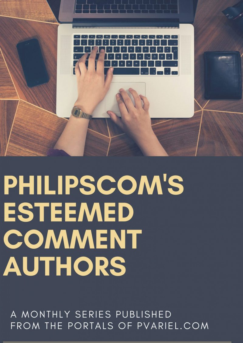 Comment Authors in August
