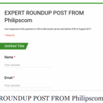 Philipscom Readers Your Attention Please! Next Expert Roundup Post Invitation